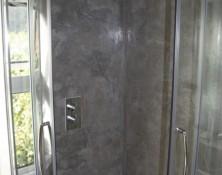 Modern Bathroom with Tadelakt Shower