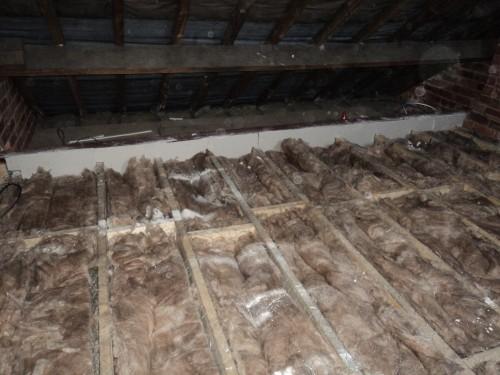 Loft insulation.